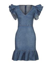 Stella McCartney Blue Short Dress
