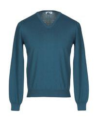 Pullover Heritage de hombre de color Blue