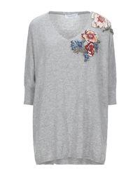 Pullover Anna Rachele de color Gray