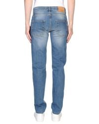 Liu Jo Blue Denim Trousers for men
