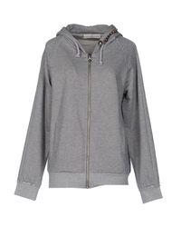 Golden Goose Deluxe Brand - Gray Sweatshirts - Lyst