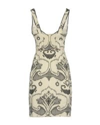 I'm Isola Marras - Gray Short Dress - Lyst