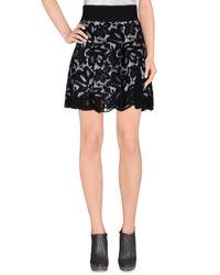 .8! Point Huit Gray Mini Skirt