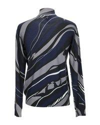 Cuello alto Class Roberto Cavalli de hombre de color Blue