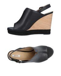 Geox - Black Sandals - Lyst