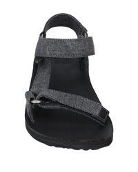 Teva Gray Sandals for men