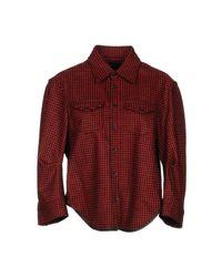 Camicia di DSquared² in Red