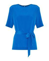 Blouse Vanessa Seward en coloris Blue