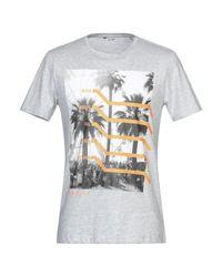 T-shirt di Only & Sons in Gray da Uomo