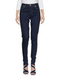 Class Roberto Cavalli Blue Denim Pants
