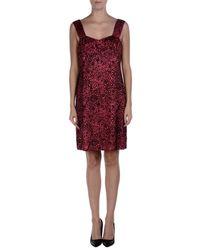 Aspesi Pink Short Dress