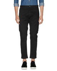 Pantalone di Officina 36 in Black da Uomo