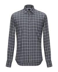 Aglini Gray Shirt for men
