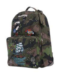 Valentino Garavani Green Backpacks & Fanny Packs for men