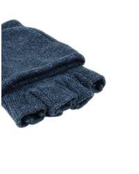 Patagonia Blue Gloves