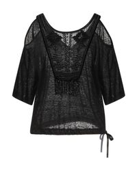 Patrizia Pepe Black T-shirts