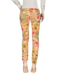 Roy Rogers Multicolor Casual Pants
