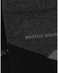 Socquettes BOSS pour homme en coloris Black