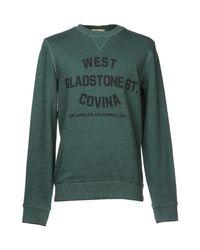 SELECTED - Green Sweatshirt for Men - Lyst
