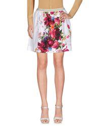 I'm Isola Marras White Mini Skirt