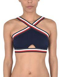 Tommy Hilfiger Blue Bikini Top