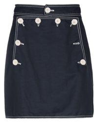 Stella McCartney Blue Mini Skirt
