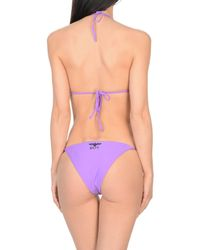 BOY London Purple Bikini