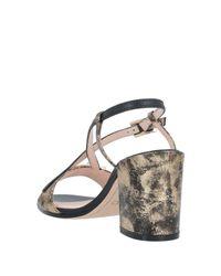 Sandales Rodo en coloris Metallic