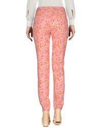 Who*s Who - Pink Casual Pants - Lyst