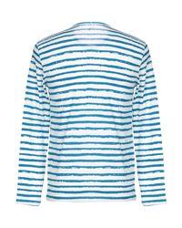 T-shirt Majestic Filatures pour homme en coloris Blue