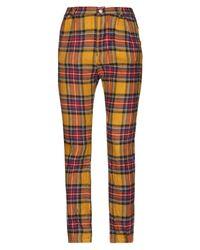 Pantalones Femme By Michele Rossi de color Multicolor