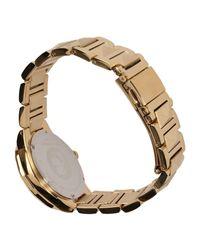 Karl Lagerfeld Metallic Wrist Watch