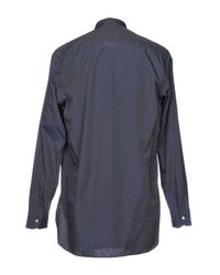 Barena Blue Shirt for men