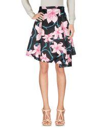Pinko Black Knee Length Skirt