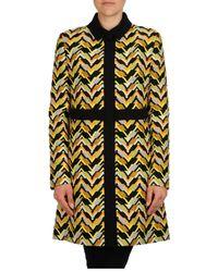 Giambattista Valli - Yellow Overcoat - Lyst