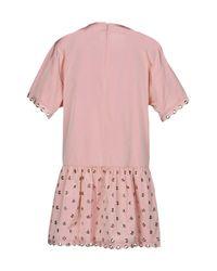 RED Valentino Pink Short Dress