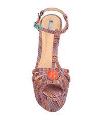 Schutz - Orange Sandals - Lyst