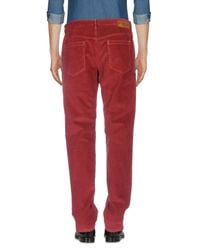Burberry Red Casual Pants for men