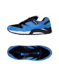 Saucony Blue Grid 9000 Bungee Pack Sneaker for men