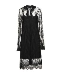 Twin Set Black Knee-length Dress