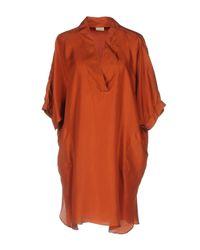 Caliban Orange Blouse