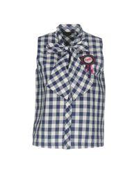 Love Moschino Blue Shirt