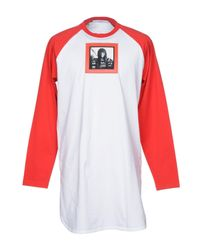 Givenchy White T-shirt for men