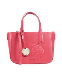 Emporio Armani Red Handbag