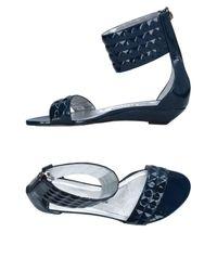 Rodolphe Menudier - Blue Sandals - Lyst