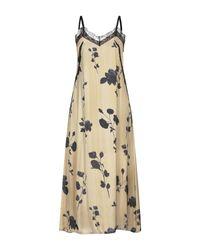 Please Natural Langes Kleid