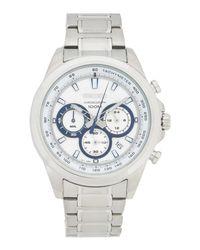 Seiko White Wrist Watch for men