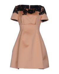 Clips Pink Short Dress