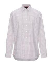 Camisa Hackett de hombre de color White