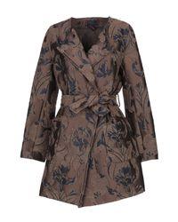 Cappotto di Femme By Michele Rossi in Brown